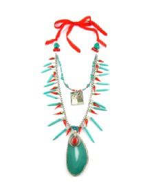 Discover an amazing range of products by cutting edge designers on Wolf & Badger online, the home of independent fashion, unique jewellery and much more. Red Centre, Centre Pieces, Box Chain, Red Ribbon, Painting Frames, Round Beads, Red And Blue, Turquoise Necklace, Pendants