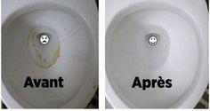 Des astuces naturelles pour nettoyer vos toilettes et les rendre brillantes sans trop d'efforts, et pour neutraliser les mauvaises odeurs.