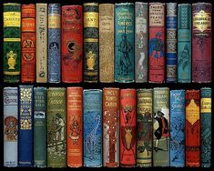 Vintage book collection that I would'nt mind having myself Vintage Book Covers, Vintage Books, Old Books, Antique Books, Victorian Books, Book Cover Art, Book Art, Book Spine, Beautiful Book Covers