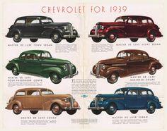 1939 Chevrolet Dealer Brochure I OldBrochures.com