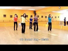 Crocodile Roll - Line Dance (Dance & Teach in English & 中文) - YouTube