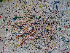 #pollock #art #project #children #kids #school