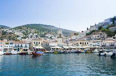 Hydra en Grecia.