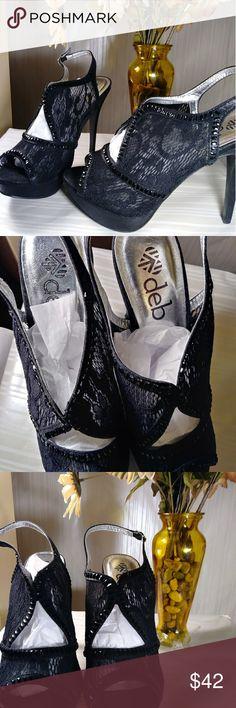 NWOT Deb heels NWOT Deb heels never worn pic speaks for itself ladies Deb Shoes Heels