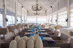 Restaurant at Four Seasons Landaa Giraavaru in  Maldives
