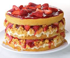 strawberry-layer-cake recipe