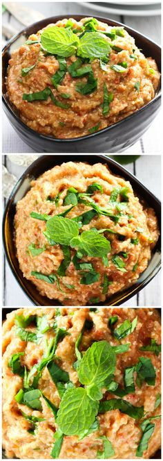 This Roasted Eggplant and Feta Dip is great as an appetizer served with some healthy crackers or veggies. You can also use it in wraps or with roasted chicken.