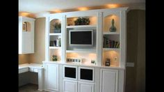 Built in Entertainment Cabinets