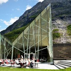 Trollwall Restaurant and Service by Reiulf Ramstad Arkitekter
