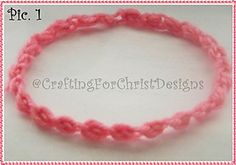 Ravelry: B's pretty Lil Puffs Headband pattern by Crafting ForChrist Designs