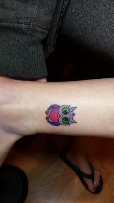 Small Owl Tattoos on Pinterest | Owl Tattoos Tattoos and body art and ...