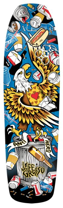 DECK OF THE DAY | ANTI HERO | JEFF GROSSO