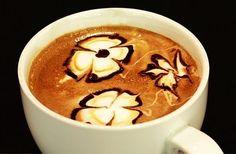 <3 #Coffee: #Latte Art : Eyelets
