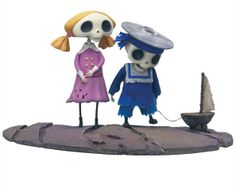 Figuras Chico y Chica esqueleto. La Novia cadáver Se espera que esta película tenga el mismo éxito que Pesadilla antes de navidad y se convierta igualmente en un clásico del septimo arte. Primeras imagenes de las nuevas figuras de 16 cms del mismo estilo que Pesadilla ...