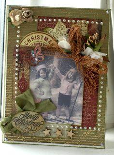 Vintage Merry Christmas - Scrapbook.com