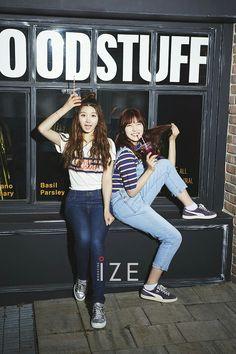 Your number one Asian Entertainment community forum! Im Nayoung, Pledis Girlz, Pledis Entertainment, Ulzzang Girl, Nct Dream, Rapper, Best Friends, Magazine, Kpop