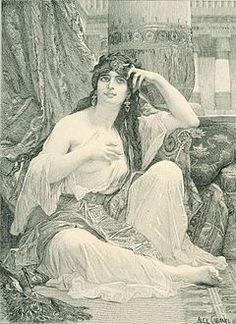 Cabanel Alexandre The Sulamite engraving.jpg