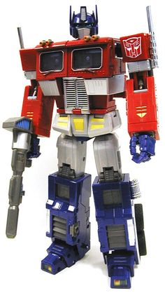 Transformers MP-1 Cybertron Commander Convoy by Takara