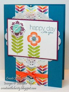 My First SAB Card by StampinChristy - Cards and Paper Crafts at Splitcoaststampers