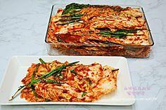 배추 겉절이 설렁탕집 겉절이 황금 레시피 | JJB의 세상사는 이야기 Korean Dishes, Korean Food, K Food, Good Food, Green Dining Room, Asian Recipes, Ethnic Recipes, Kimchi, Food Design