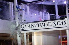 Battezzata la Quantum of the Seas, rivoluzionaria cruise ship Royal Caribbean