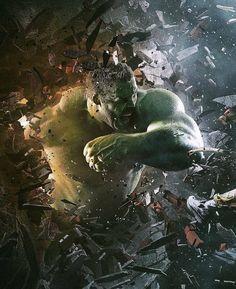 """3,403 Likes, 10 Comments - What the iyuuu (@whattheiyuuu) on Instagram: """"Amazing art of #Hulk Artist : @karimnassarphoto behance.net/karimnassar"""""""