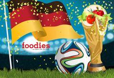 foodies WM-Küche: Deutschland: Auberginensalat mit Cocktails
