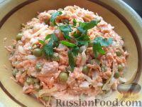 Фото к рецепту: Салат «Обжора»