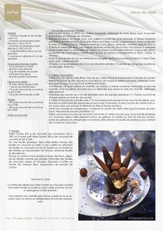 Lenôtre - Fleur de Noël http://www.lenotre.com/