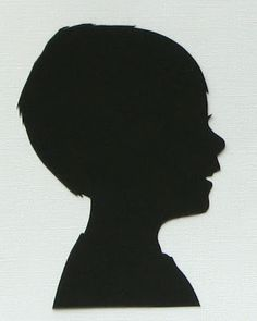What I Made Today: TUTORIAL: Silhouettes