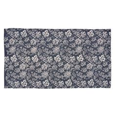 Lilianna Navy Area Rug 60 x 96 from the Flooring collection by Victorian Heart (VHC Brands). The rug measures 60 x 96 and is made of cotton material. Printed Cotton Rug, Navy Area Rug, Braided Jute Rug, Cotton Rug, Navy Cotton Rug, Navy Rug, Rugs, Braided Rugs, Area Rugs