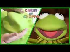 Kermit The Frog Cake Tutorial on Cake Central
