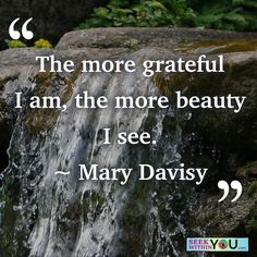 """The more grateful I am, the more beauty I see.  Set a new vibration of gratitude and you too will start to see more beauty in your life.  Question: Who can I get into the habit of being more grateful?  Answer: Being grateful doesn't have to become a """"task"""". Just put it on your vision board! Over time, it will become easy to just be grateful! https://www.youtube.com/watch?v=cZwU_KraZPs  #sundaygratitude #lawofattraction"""