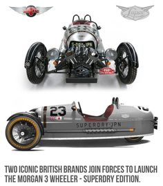 Morgan Sports Car - Superdry 3 Wheeler