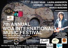 7th Annual WOA International Music Festival - Goa 2015