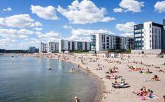 Vuosaari, Helsinki Visit Helsinki, City Vibe, Scandinavian Countries, San Fransisco, City Landscape, Beautiful Buildings, Capital City, Nostalgia, Scenery