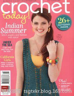Crochet Today! №7/8 2012 - 轻描淡写 - 轻描淡写