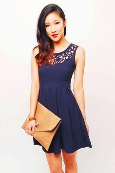 cutout dress, classy & cute!