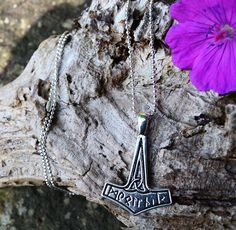 £5 thors hammer necklace by shiningstarjewellery on Etsy
