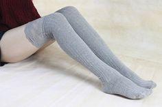 35% off Grey Thigh High Socks Lace Trim Long Lace Socks Knee High Socks Black Lace Boot Socks Wedding Dress Ruffle Socks  zjb 1109