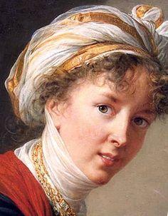 Serial Selfie! Louise Élisabeth Vigée Le Brun  (16 April 1755 – 30 March 1842)  recognized as the most important female painter of the 18th century painted over 40 self portraits.