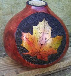 Gourd Leaf Vase by EverythingSweder on Etsy, $65.00