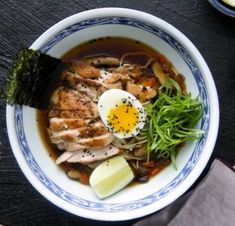 When that cold just won't quit, this chicken noodle ramen is here to save the day. Sin Gluten, Gluten Free, Shoyu Ramen, Celery Rib, Boneless Chicken Thighs, Toasted Sesame Seeds, Ramen Noodles, Dinner Recipes, Healthy Recipes
