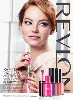 Emma Stone for Revlon | Manicure by Lisa Jachno