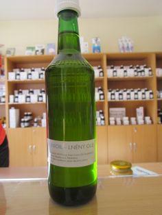 Lněný olej LO extrahovaný *Linioil*, 500 ml Healing Herbs, Wine, Drinks, Bottle, Drinking, Beverages, Flask, Drink, Medicinal Plants