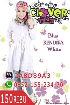 Blus Rendita White https://www.facebook.com/divistore