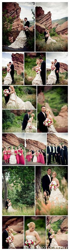 red rocks colorado wedding. This is where I want to get married