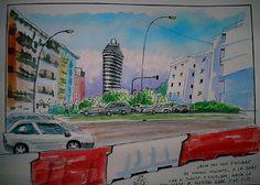 carrer 9 doctubre, by Josep Castellanos.