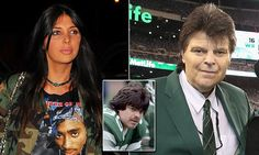 Socialite Brittny Gastineau  describes her dad as 'a legend in football' and  vows to raise the profile of the illnesses – and help other sufferers - on his behalf.