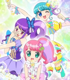 Triangle Anime Stories, Pretty Star, Anime Music, Pretty Cure, Magical Girl, Musical, Kawaii Anime, Idol, Pokemon